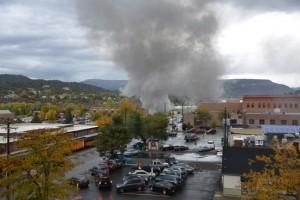 Dampflock in Durango Silverton